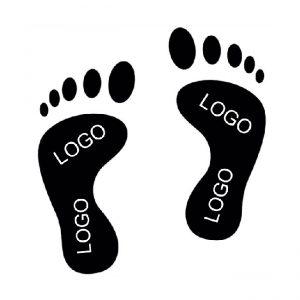 Ayaq izi stikerləri