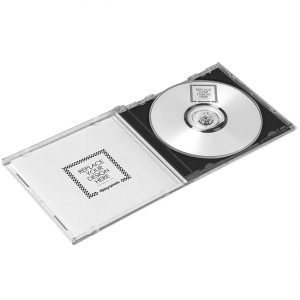 CD/DVD with transparent box