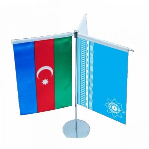 Table Flag with Three flags