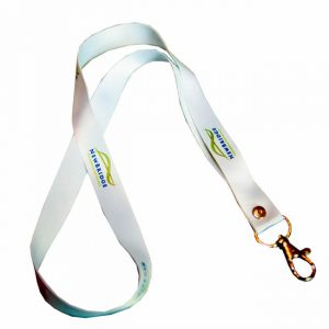 Lanyard with multi-color printing