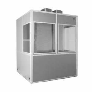 İki nəfərlik ISO standartlı sinxron tərcümə kabini