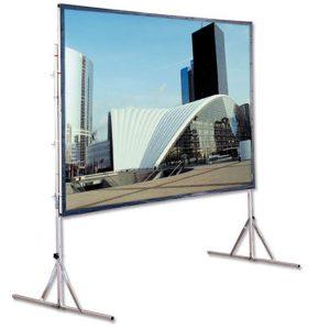 Proyektor ekranı 2×3 m