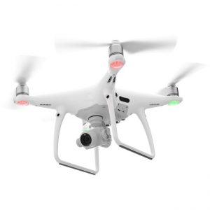 Drone camera recording