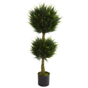 Dairəvi formada ikili dekorativ ağac