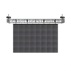 Led screen flying from truss