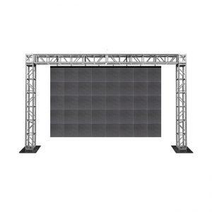Led screen on goal post truss
