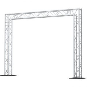 Goal post truss