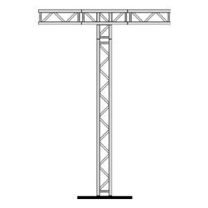 07 T Truss for lighting