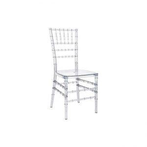 Tiffany/Chiavari transparent chair