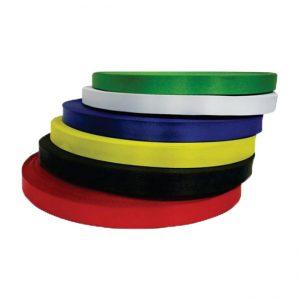 Satin ribbon without printing