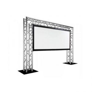Proyektor Ekranı Metal Konstruksiya üzərində