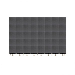 Ground supported LED screen