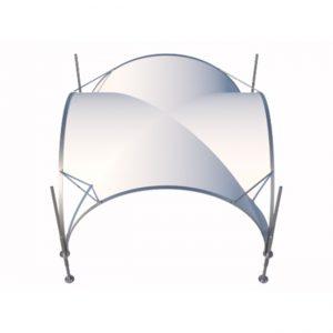 Luxury Tent 3,5x3,5m (12,25m2)