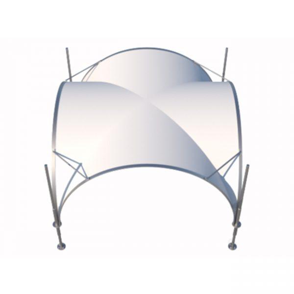 Luxury Tent 3,5x3,5m (12,25m2) (1)