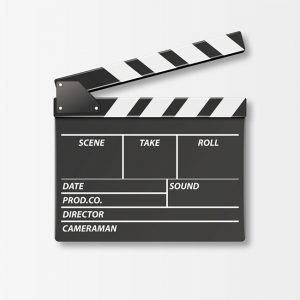 Clapperboard for Photozone
