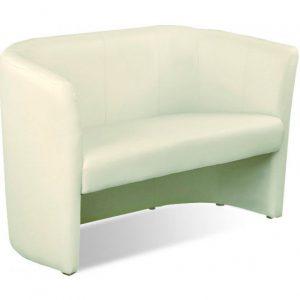 White sofa Club Duo