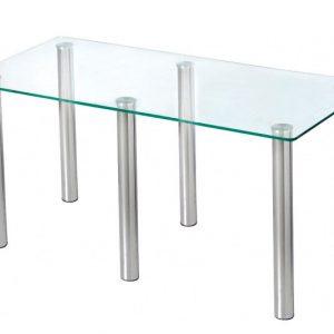 Şüşəli masa Kaya