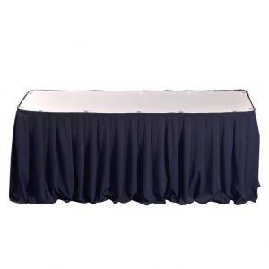 Mavi masa yubkası