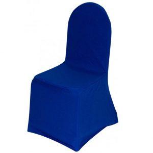 Dark blue chair cover
