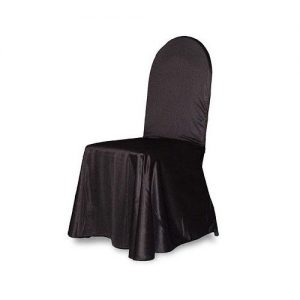 Universal chair cover black