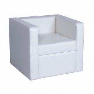 White armchair Baron