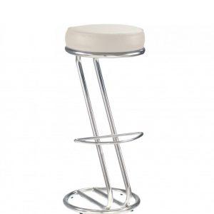 White bar chair Zeta