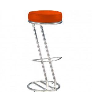 Orange bar chair Zeta