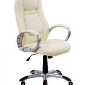 Beige office chair Gloria