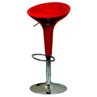 Bar chair 4 red