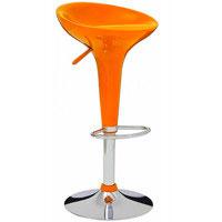 Bar chair 4 orange