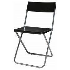 Black Gunde Folding Chair
